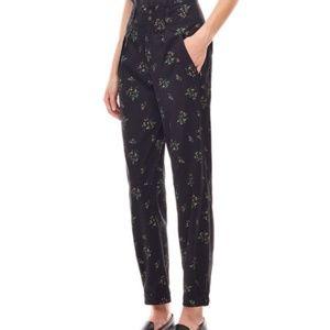 NWT La Vie Rebecca Taylor Floral Odette Pants